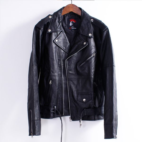 Men's Leather Jacket – Double