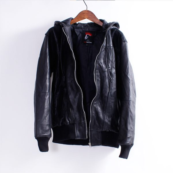 Men's Leather Jacket – Hoodie