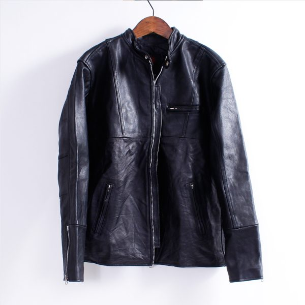 Men's Leather Jacket – Single