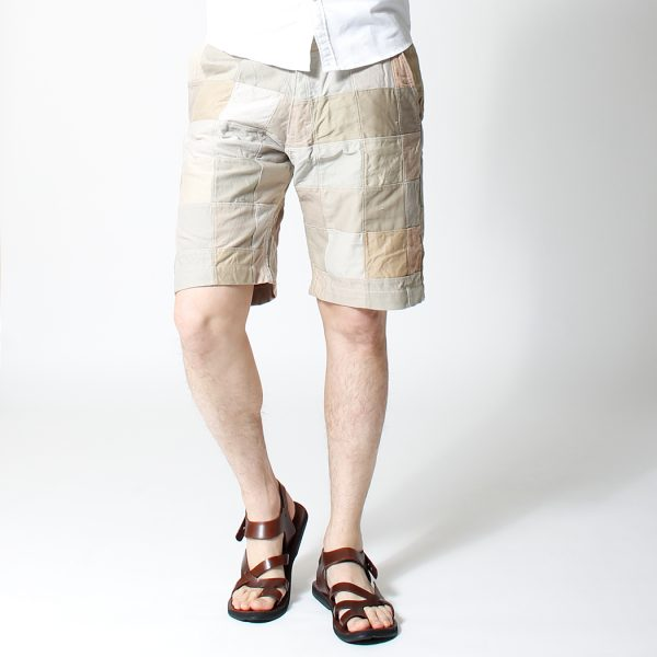 Patchwork Short Pants