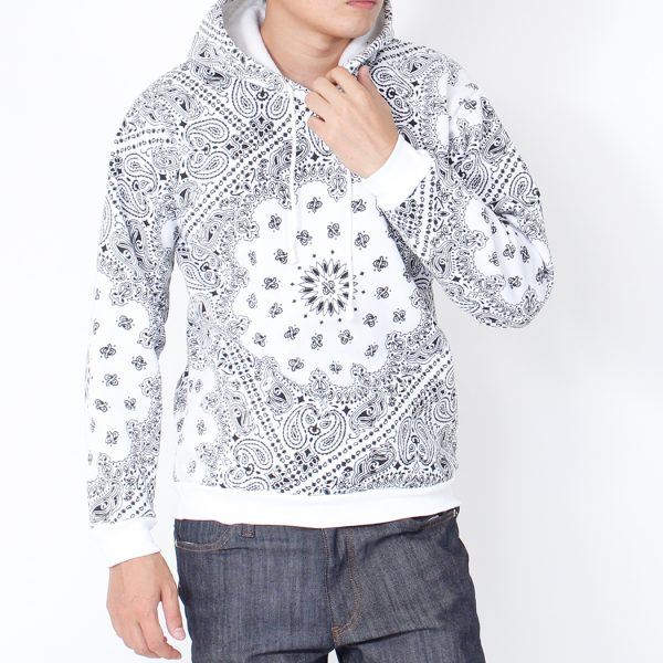 Pullover Hoodie Parka – Paisley