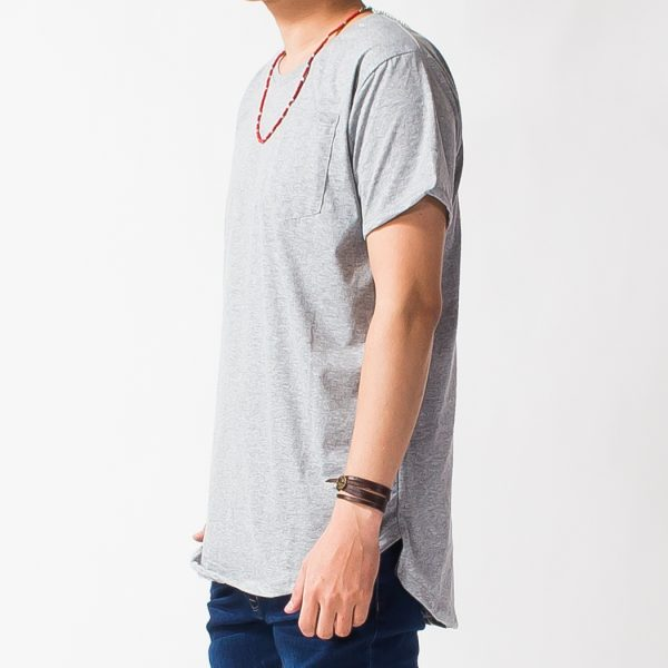 T-shirt ( Long Length , Plain )