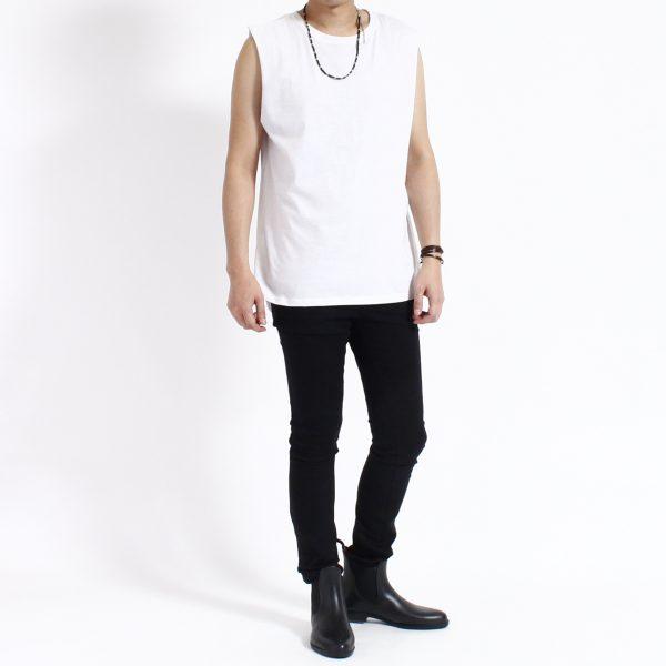 No Sleeve shirt ( Long Length , Plain )