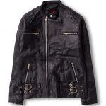 Men's Leather Jacket – Single Motor